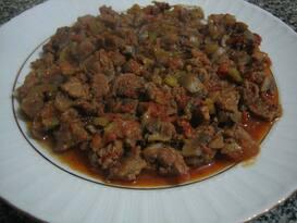 Chili Con Carne Baharatlı Kıymalı Mantar