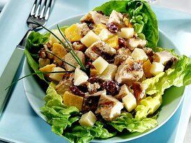 Yunan Usulü Tavuklu Salata