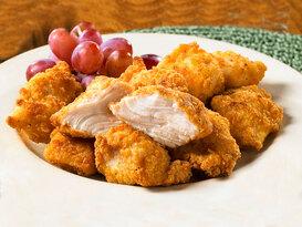 Fırında Kızarmış Tavuk Topları Ve Fıstık Sosu