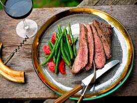 Tatlı Ve Baharatlı Göğüs Biftek