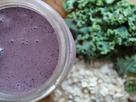 Blueberry (Yaban Mersini) Lahana Smoothie