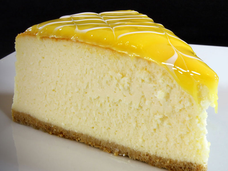 Limonlu Vanilyalı Cheese Cake
